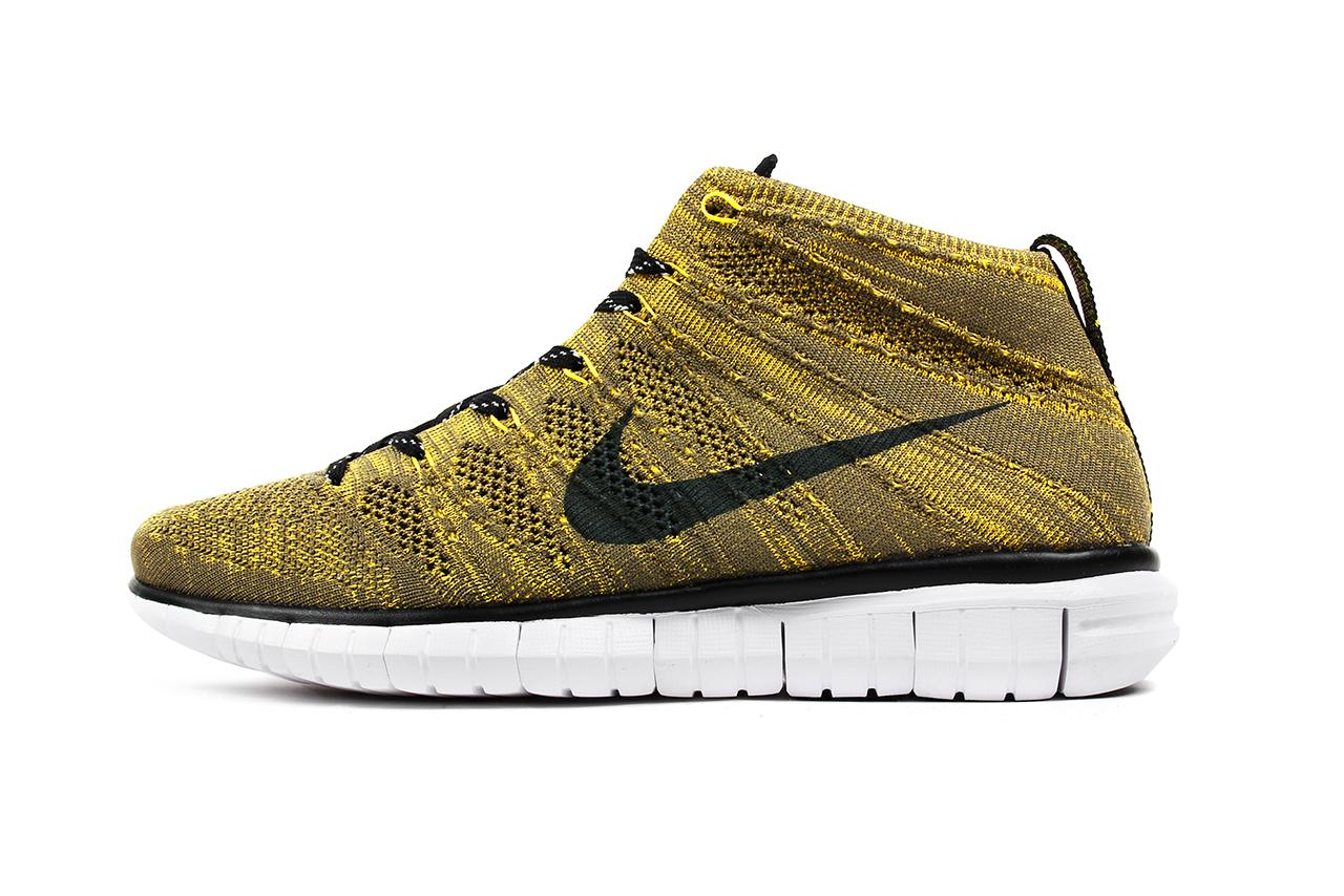"Image of Nike Free Flyknit Chukka ""Tour Yellow"""