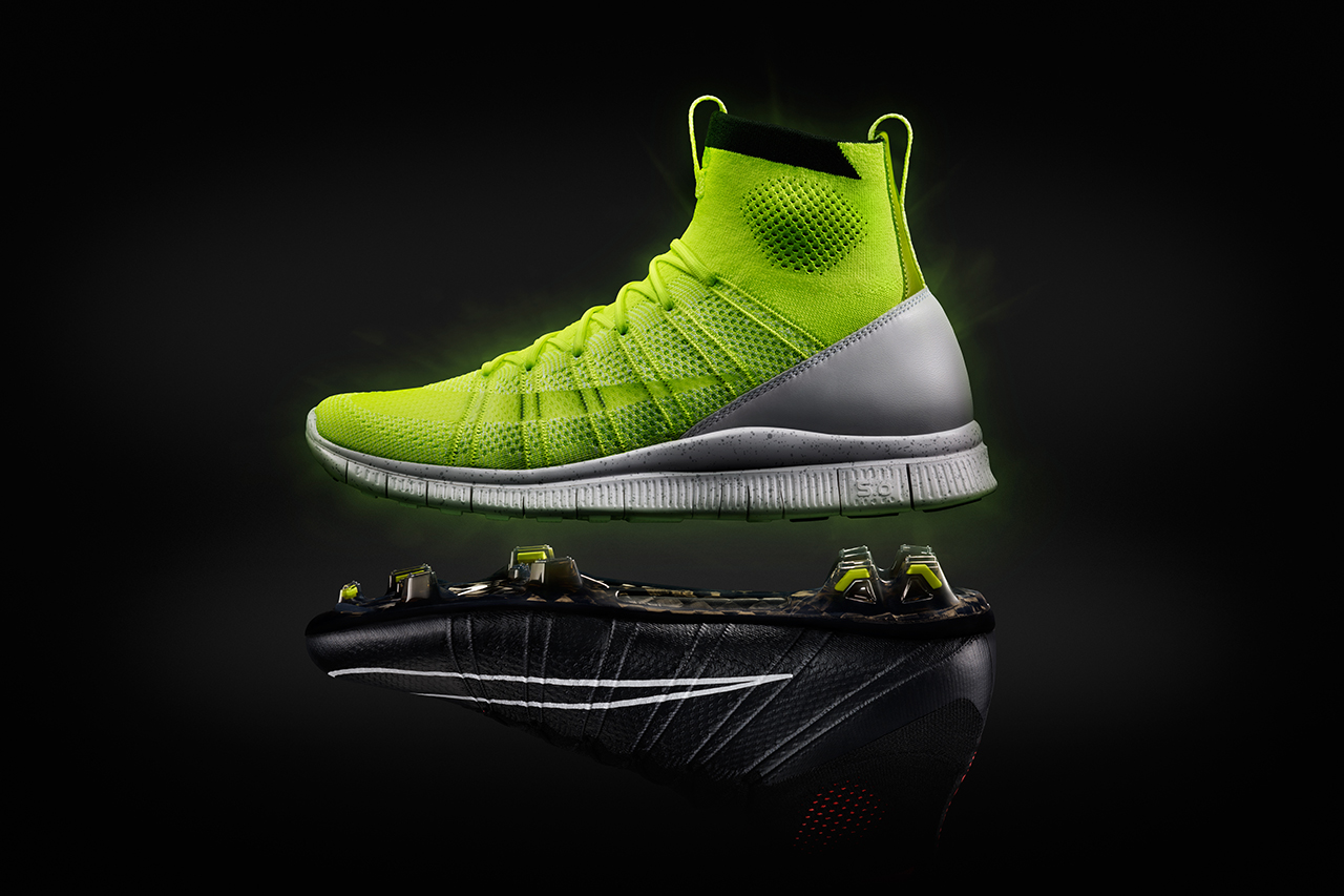 """Image of Nike Free Mercurial Superfly HTM """"Volt"""""""