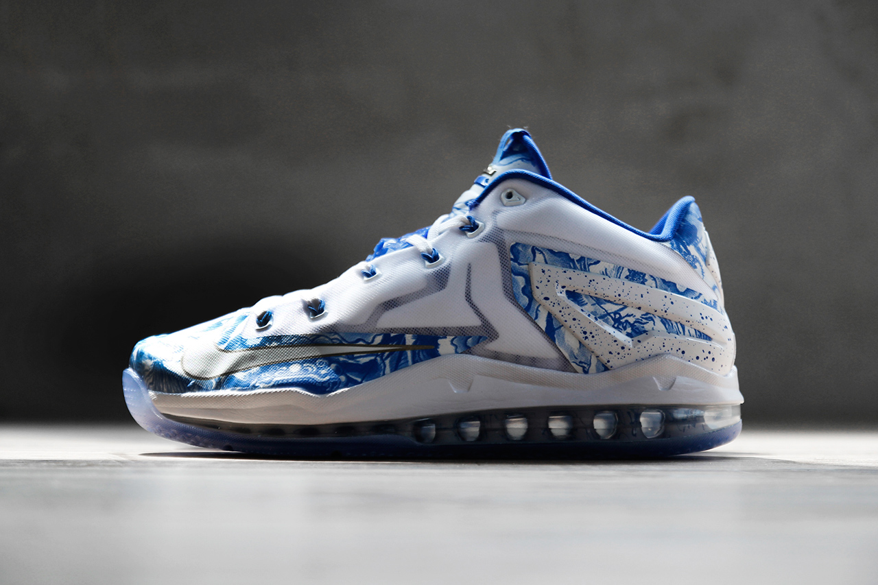 Image of Nike LeBron 11 Max Low CH Pack Blue/White