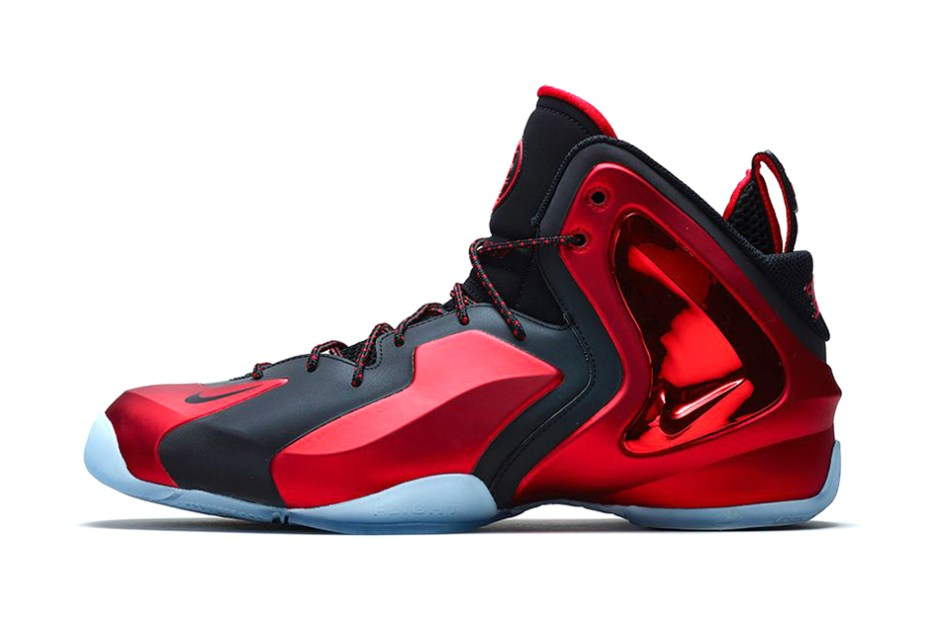 "Image of Nike Lil Penny Posite ""University Red"""