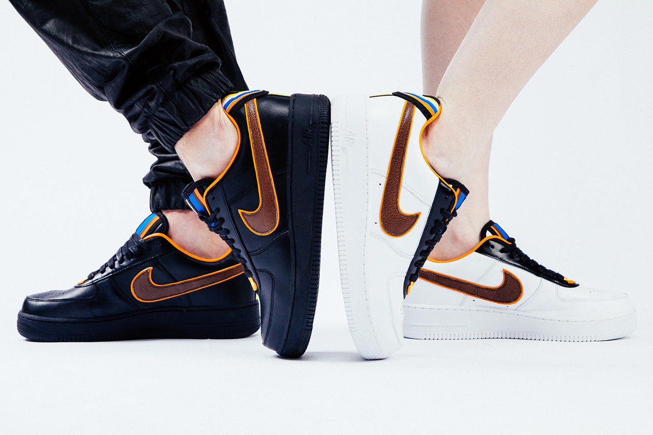 "Image of Nike + R.T. Air Force 1 ""Laissez-aller"" Editorial"
