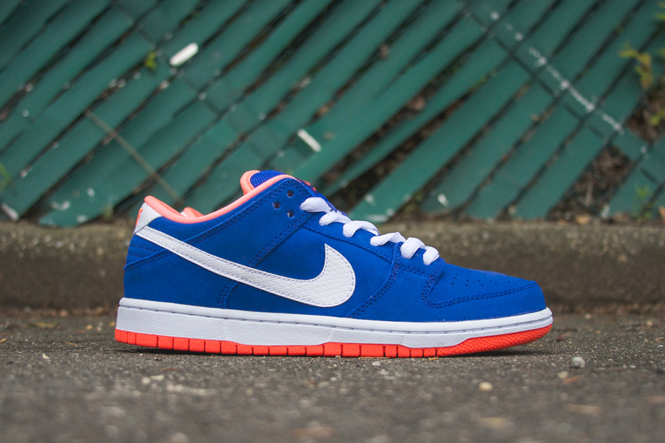 """Image of Nike SB Dunk Low Pro """"Bright Mango"""""""