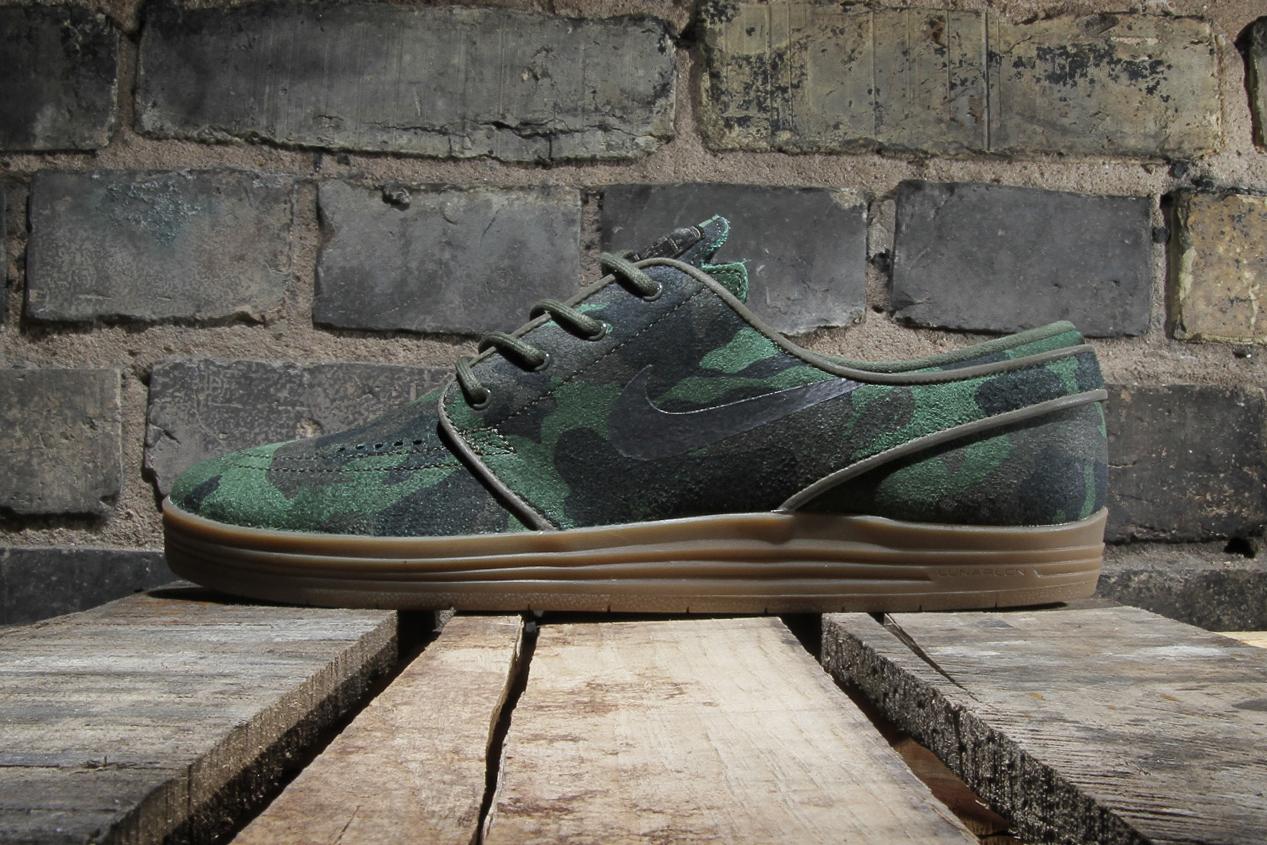 "Image of Nike SB Lunar Stefan Janoski QS ""Camo"""