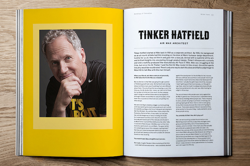 "Image of Nike x Sneaker Freaker ""Genealogy of Innovation"" Book"