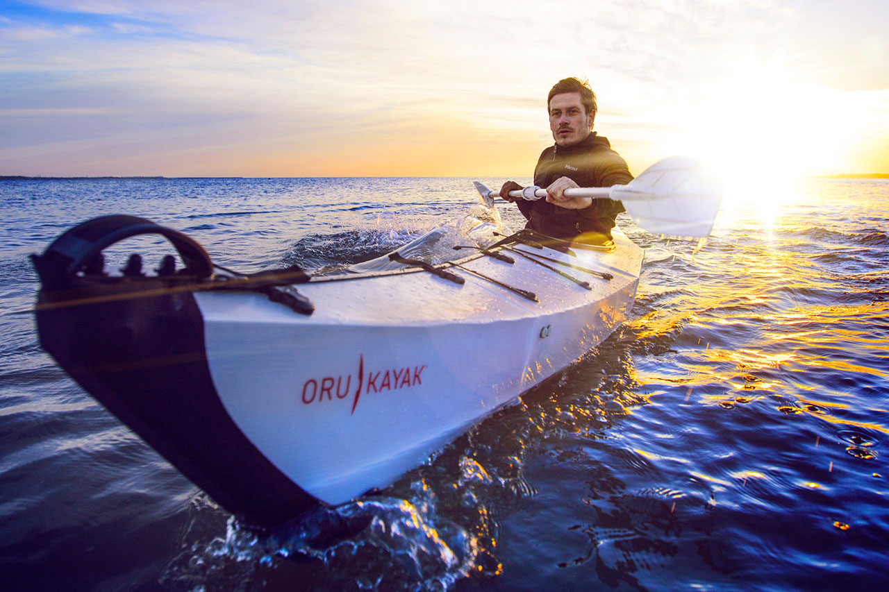 Image of Origami-Inspired Foldable Oru Kayak