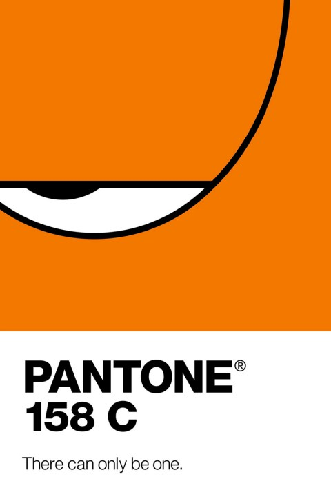 Image of Pantone Renders Famous Cartoons as Colors in New Ads