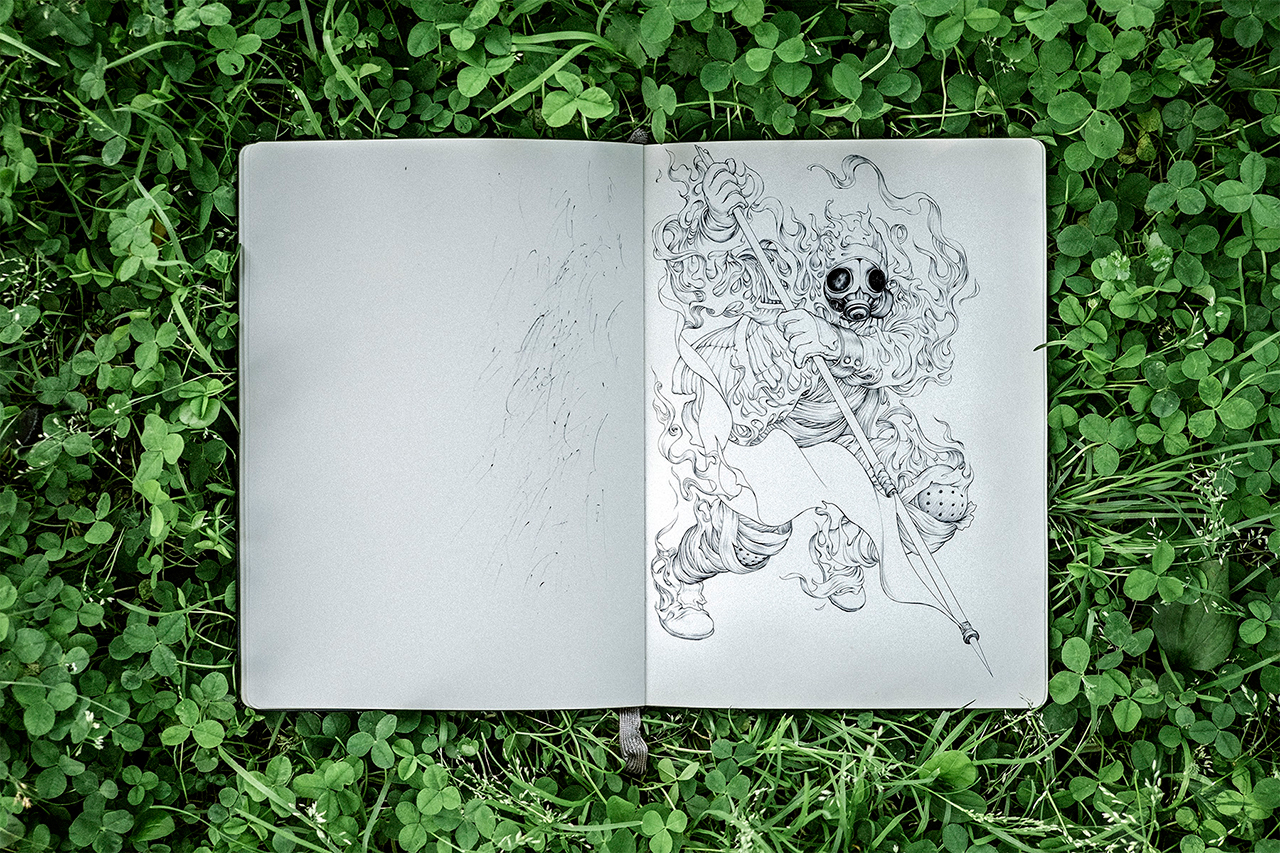 Image of Pen & Paper: James Jean's Album Art Exploration