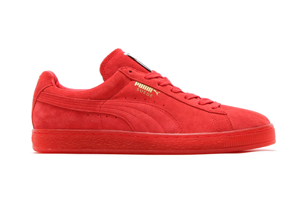 """Image of PUMA Suede Classic+ Ice """"Red Scarlet"""""""