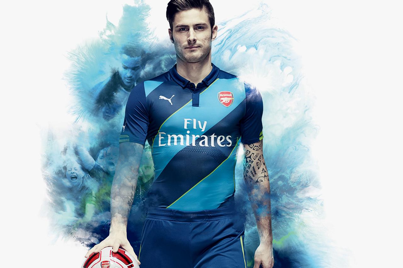 Image of PUMA Unveils Arsenal's New 2014/15 Kits