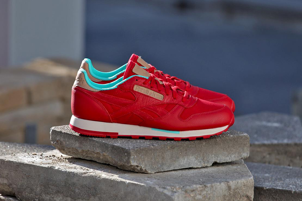 "Image of Reebok Classic Leather ""Red Canvas"""