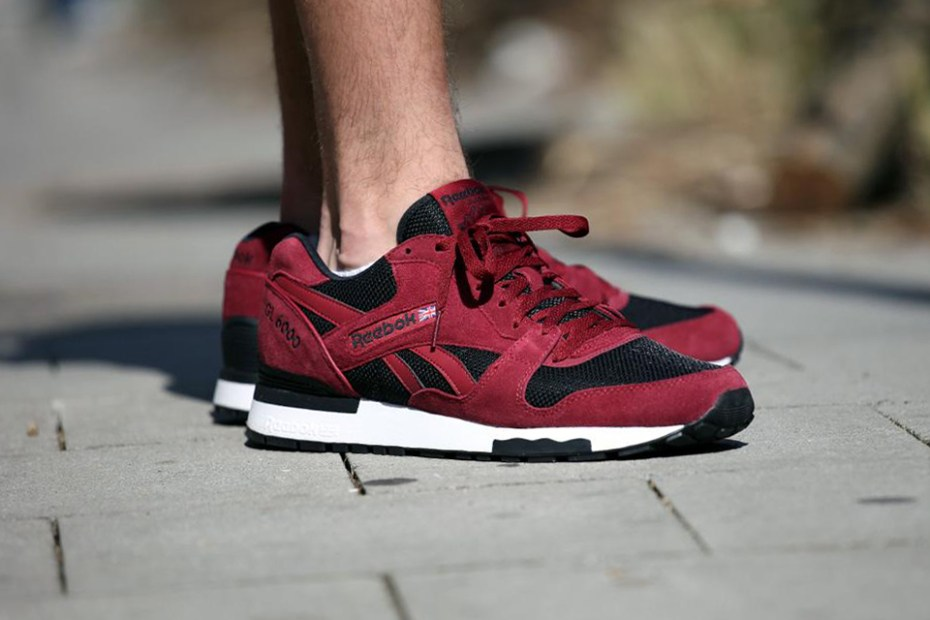 "Image of Reebok GL 6000 ATHLETIC ""Burgundy"""