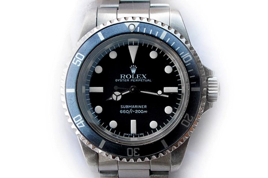 Image of RETROSPECT: Rolex 5513 Matte Dial Submariner