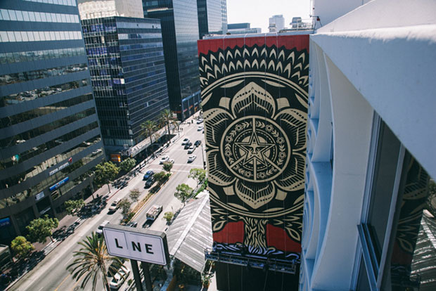Image of Shepard Fairey For The Line Hotel LA