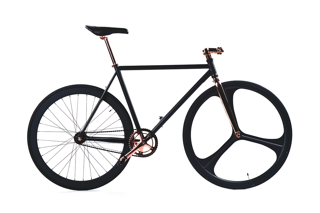 Image of SikSilk Limited-Edition Aluminum Fixed Gear Bike