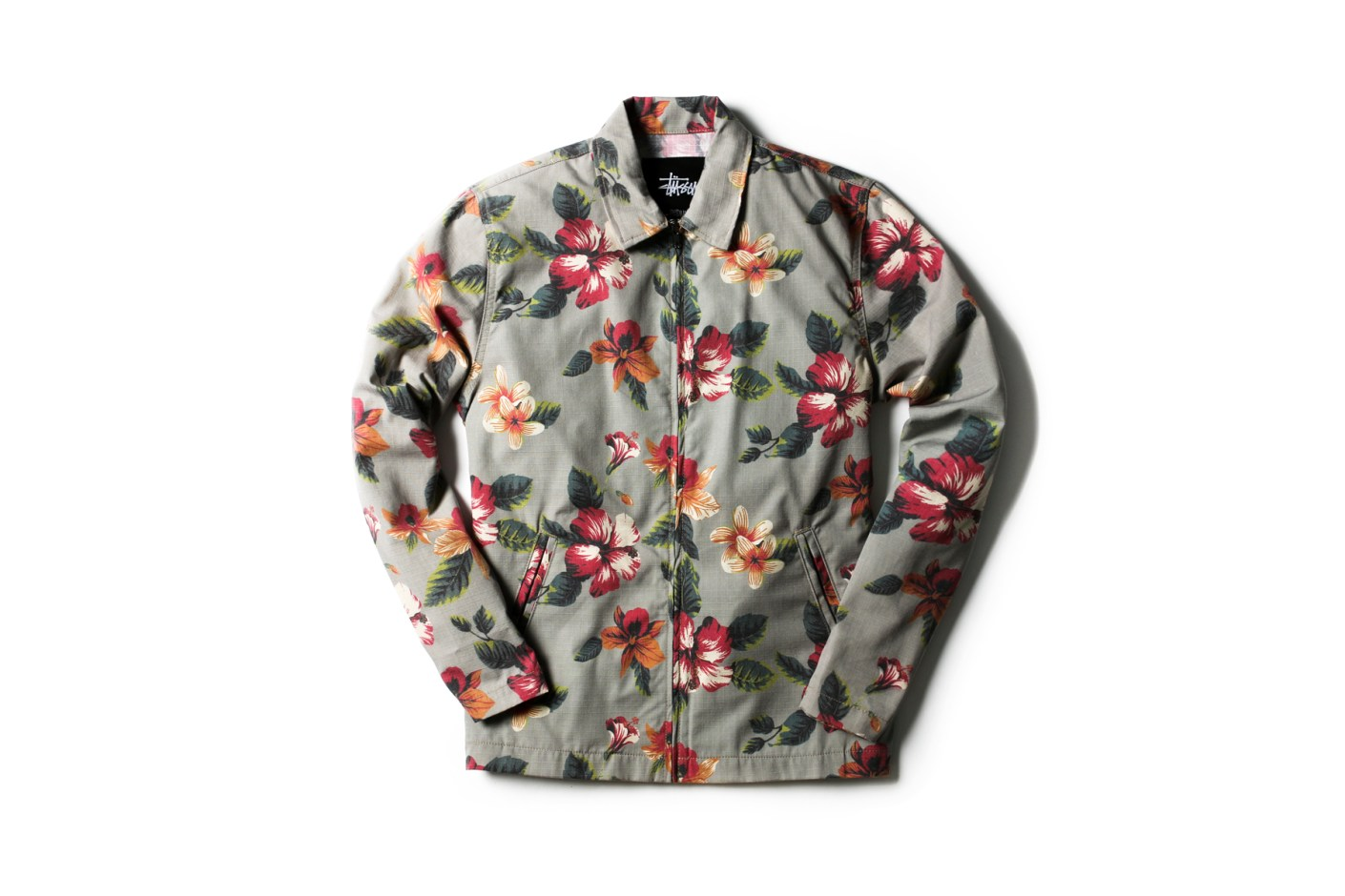 Image of Stussy 2014 Spring/Summer Vintage Flower Coach Jackets