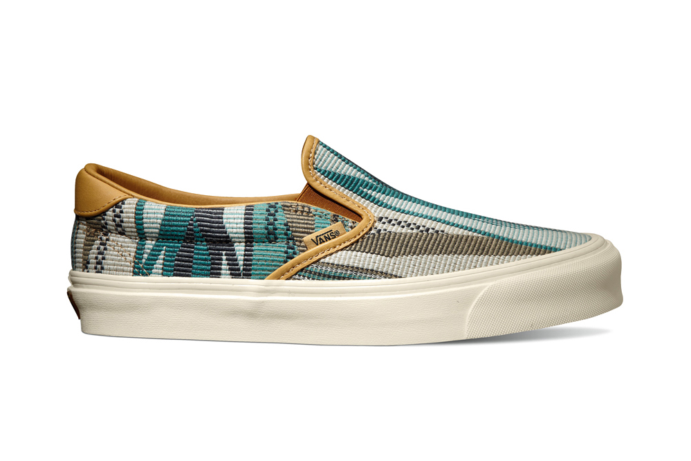 Image of Taka Hayashi x Vault by Vans 2014 Fall TH OG Classic Slip-On 59 LX