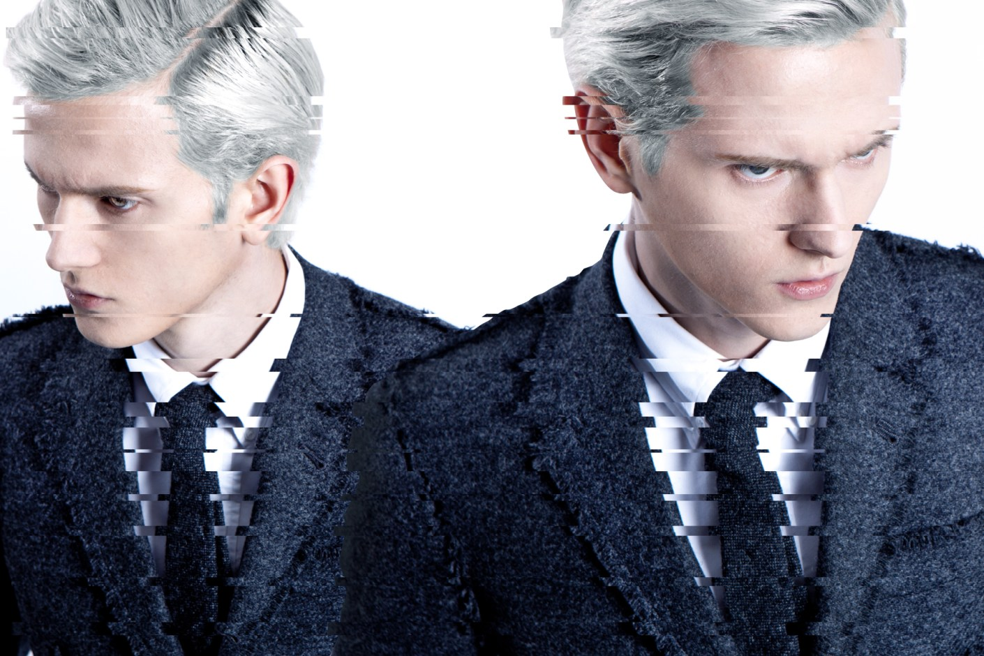 """Image of Thom Browne 2014 Spring/Summer """"Dystopian"""" Editorial"""