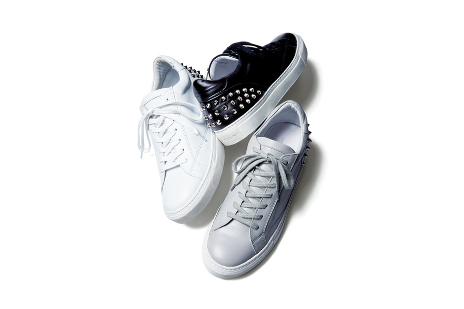 Image of uniform experiment Leather Studs Sneaker