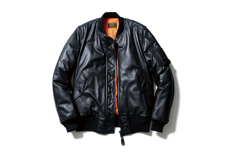 Image of uniform experiment x Alpha Industries 2014 Fall/Winter Leather MA-1