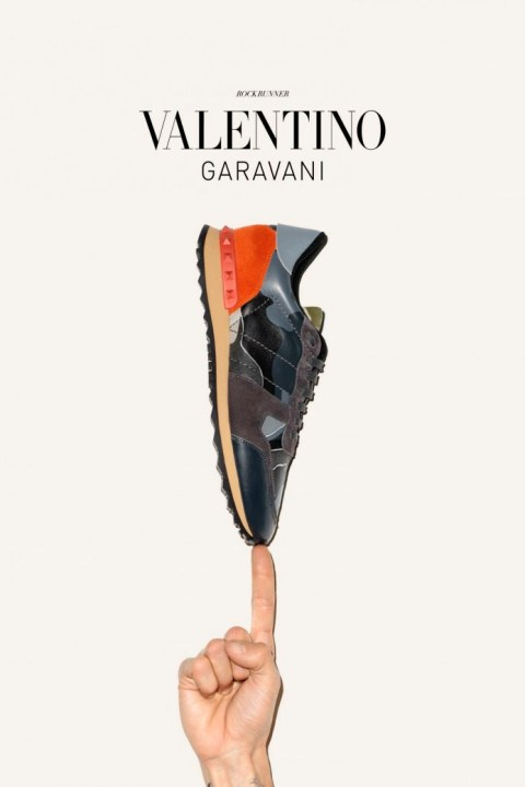 Image of Valentino 2014 Fall/Winter Sneakers Campaign