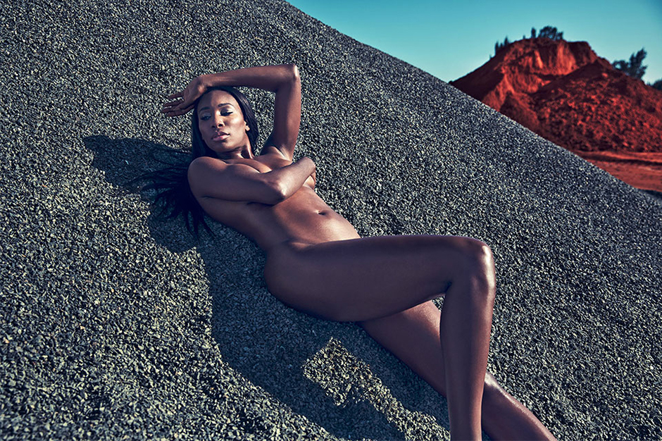 "Image of Venus Williams, Nigel Sylvester and More Strip Down for ESPN the Magazine's ""Body Issue"""