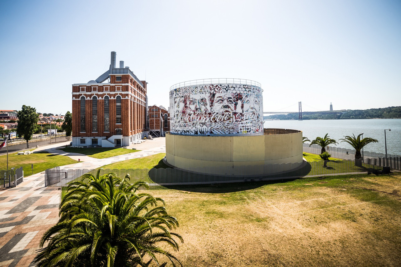 "Image of Vhils ""Dissection"" Exhibition @ Electric Museum Lisbon Recap"
