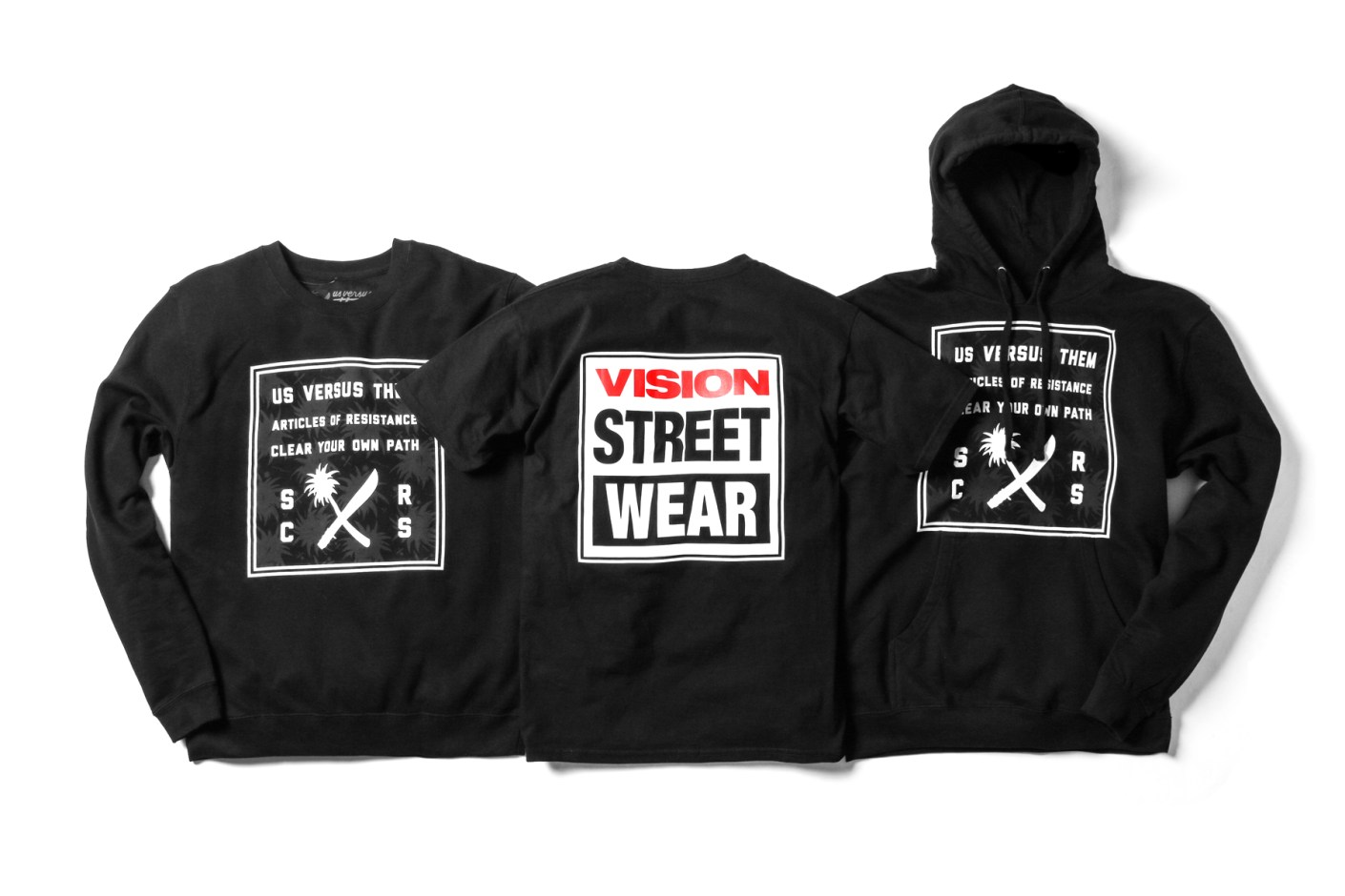 Image of Vision Street Wear x Us Versus Them 2014 Collection
