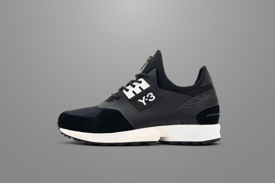 "Image of Y-3 2014 Fall ZX Zip ""Black"""
