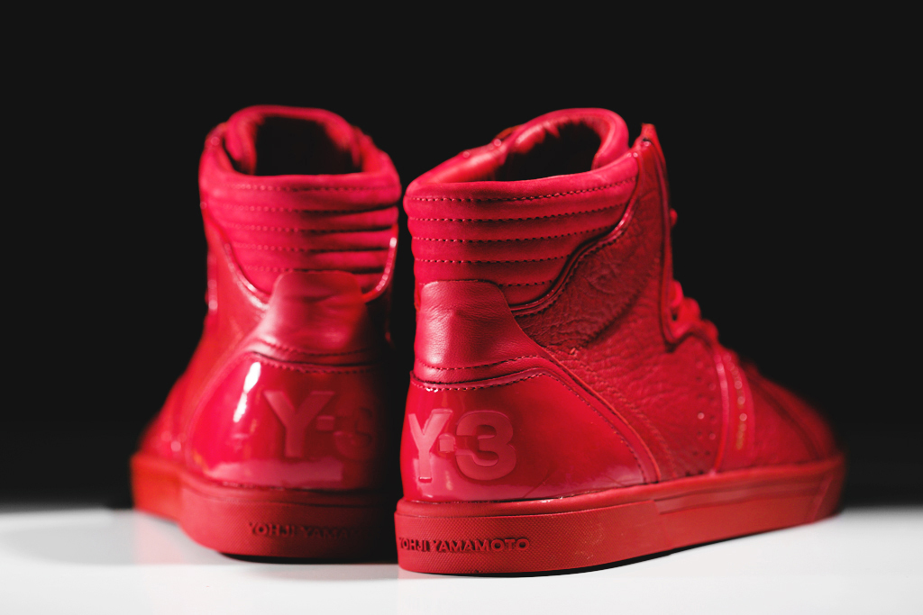 "Image of Y-3 Rydge ""All Red"""