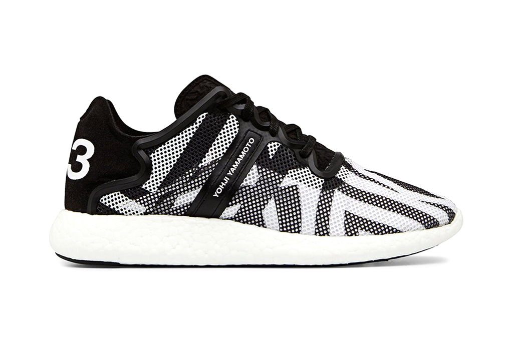 Image of Y-3 Yohji Boost Black/White