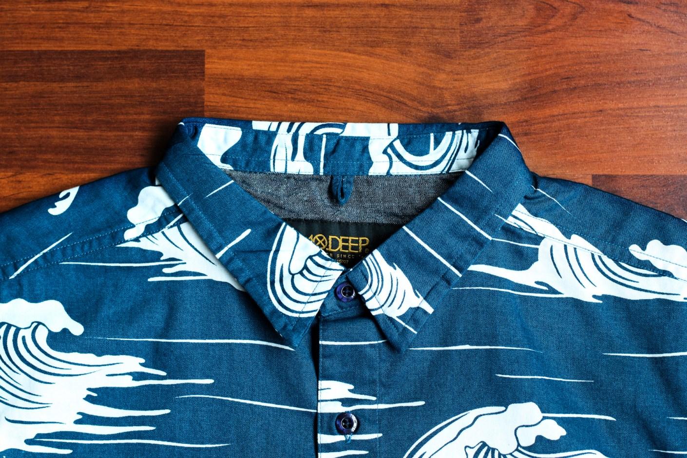 Image of 10.Deep 2014 Fall/Winter Island Life Button-Down Shirt