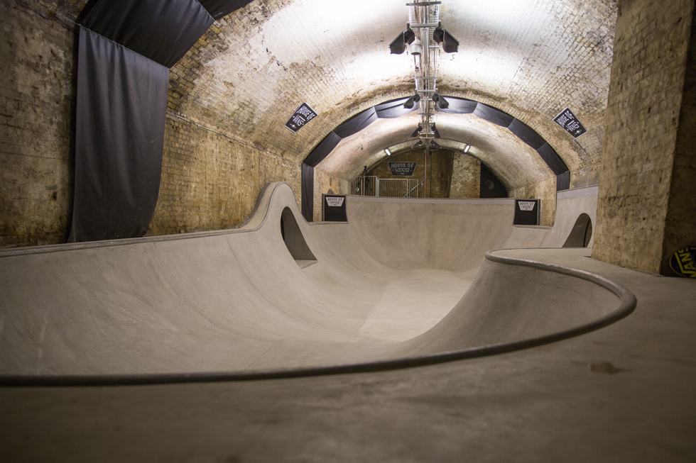 Image of London House of Vans Opening Recap