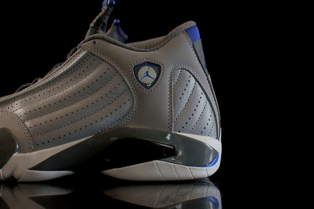 "Image of A Closer Look at the Air Jordan 14 Retro ""Wolf Grey"""