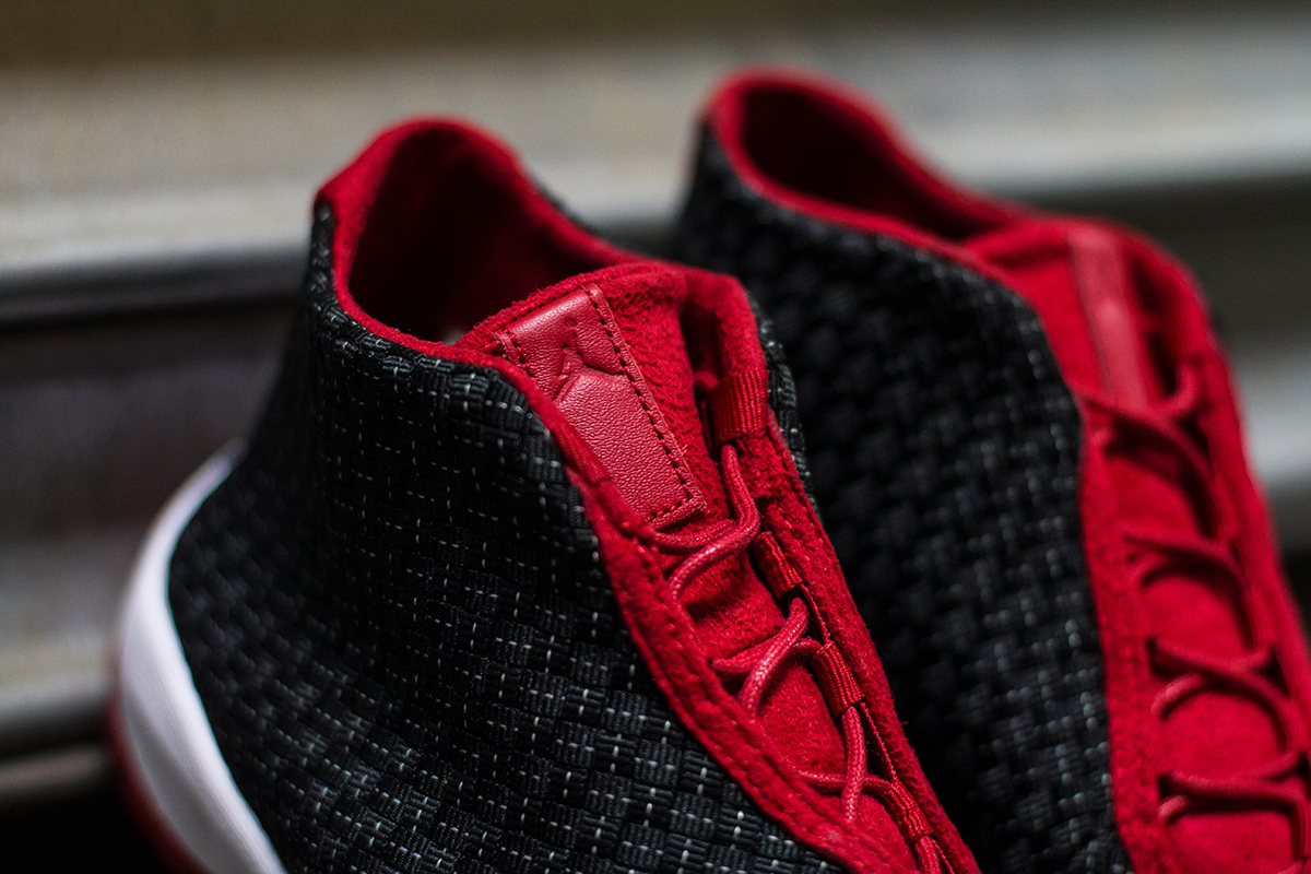 "Image of A Closer Look at the Air Jordan Future Premium ""Bred"""