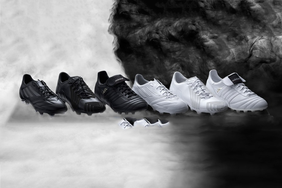 "Image of adidas Copa Mundial, f50 & Predator ""Black/White"" Collection"