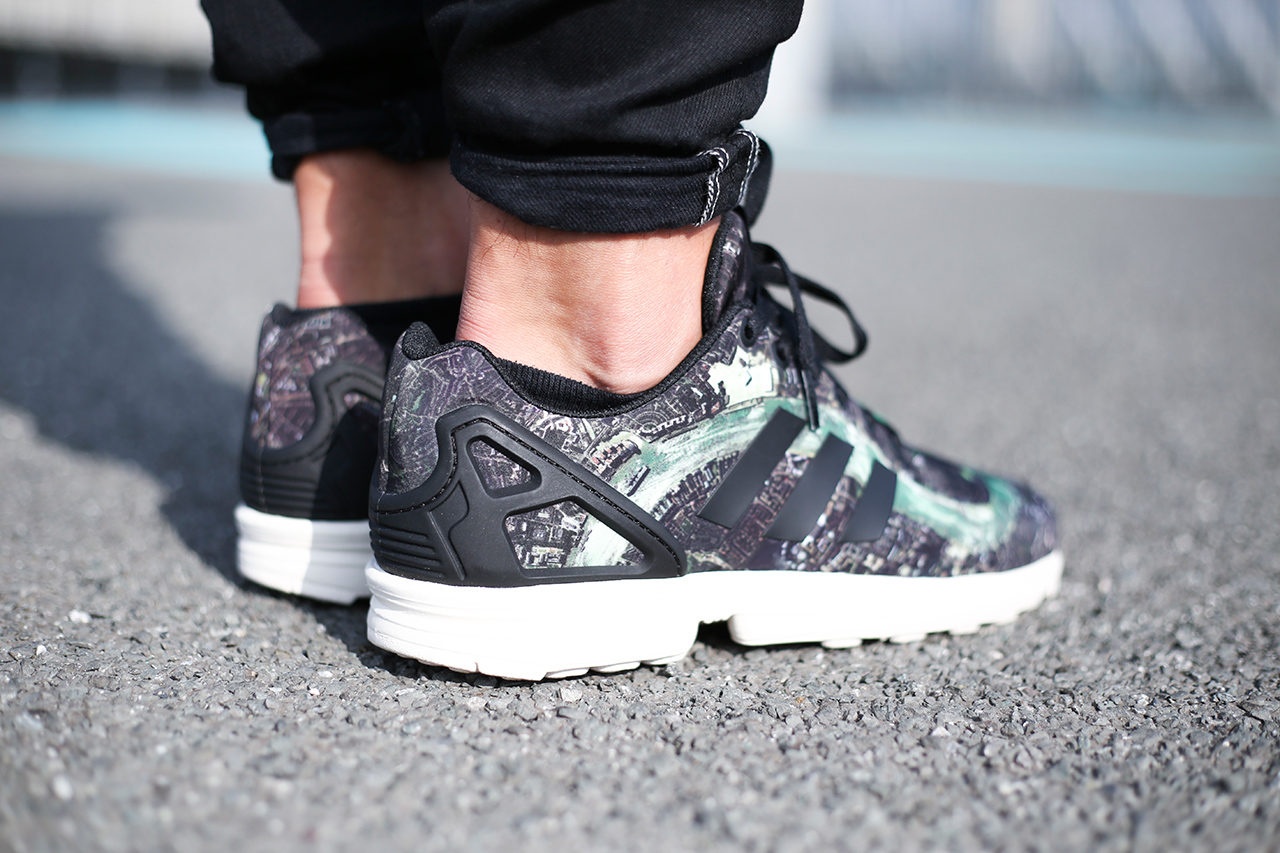 "Image of adidas Originals ZX Flux ""London"""