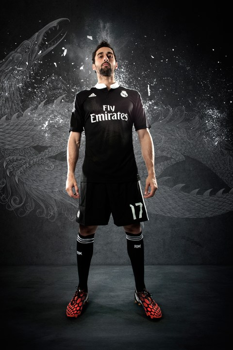 Image of adidas Unveils Real Madrid's 2014/15 Third Kit by Yohji Yamamoto