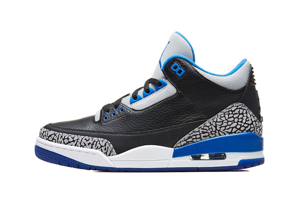 "Image of Air Jordan 3 Retro ""Sport Blue"""