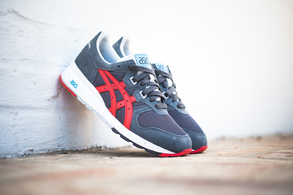 Image of ASICS Gel Epirus Dark Grey/Fiery Red