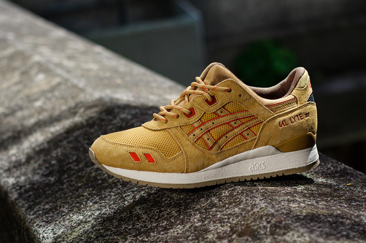 "Image of ASICS Gel Lyte III ""Honey Mustard"""
