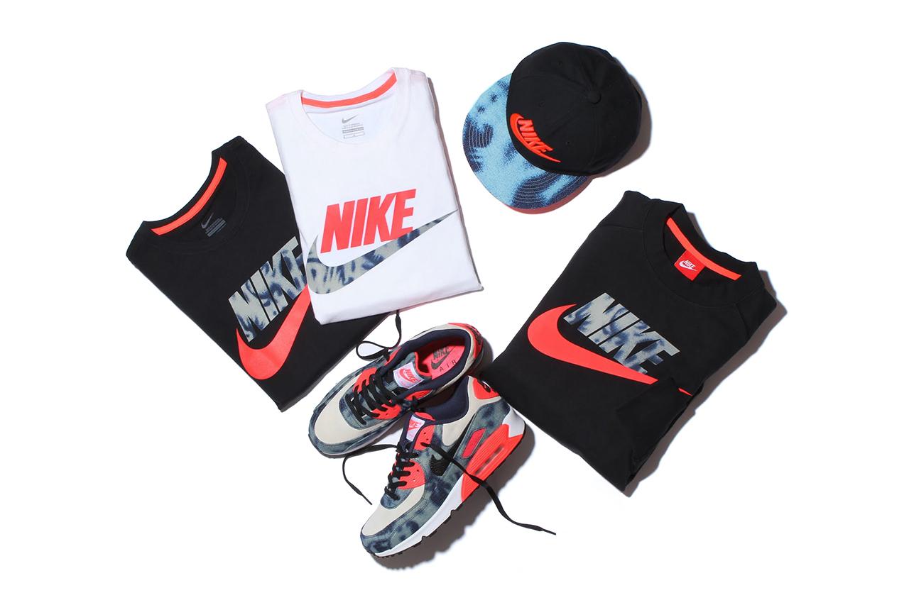 "Image of atmos x Nike Sportswear ""Bleached Denim"" Pack"