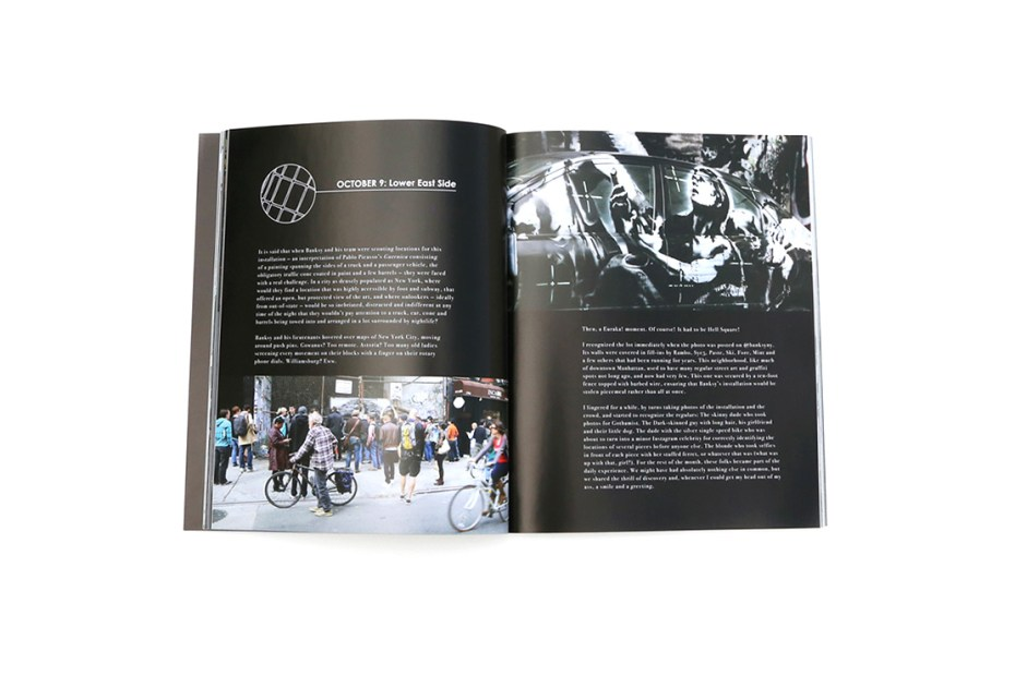 Image of 'Banksy in New York' Limited Edition Book by Ray Mock