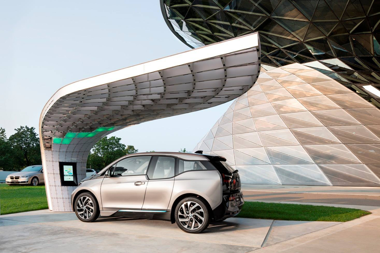 Image of BMW Welt Point.One Solar Charging Station by EIGHT