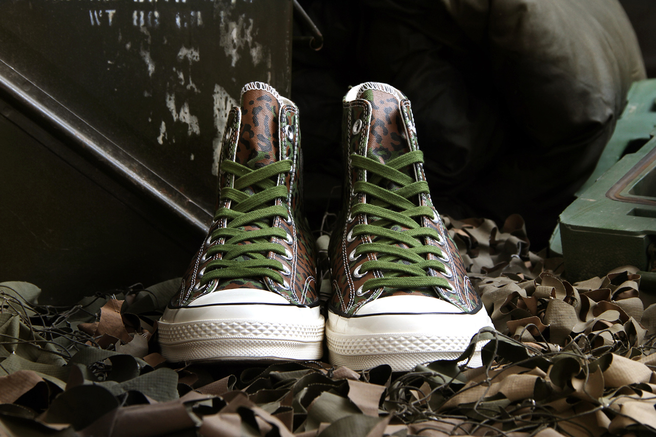 "Image of Concepts for Converse Chuck Taylor All Star 1970s ""Zaire Leopard Camo"""