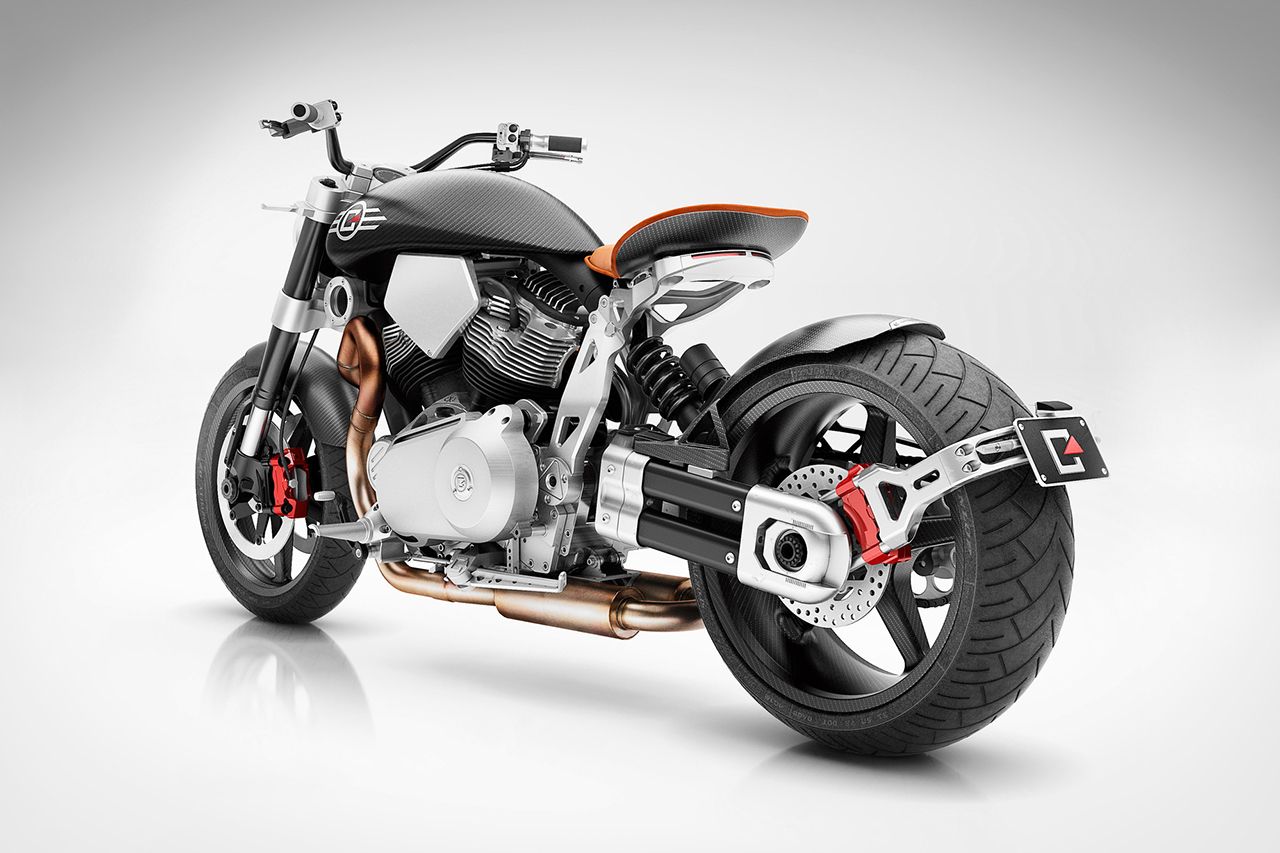 Image of Confederate X132 Hellcat Speedster