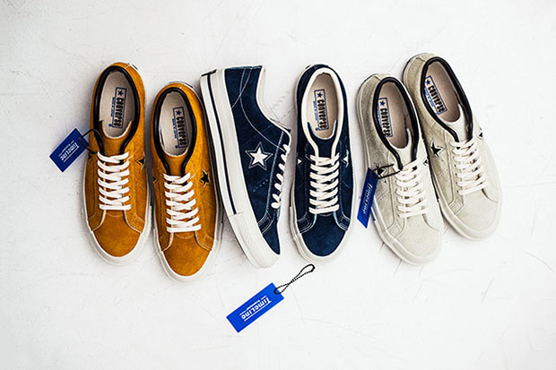 "Image of Converse Japan One Star 40th Anniversary ""TimeLine"" Pack"