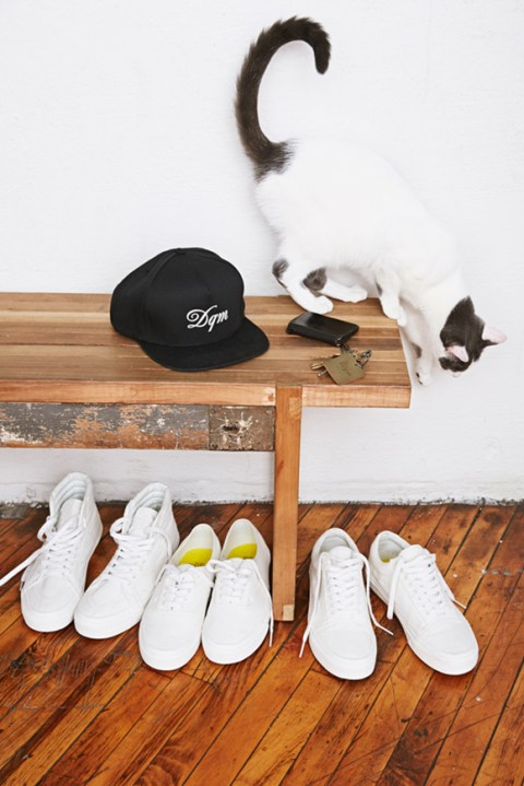 """Image of DQM x Vans 2014 Summer """"Square Ones"""" Collection"""