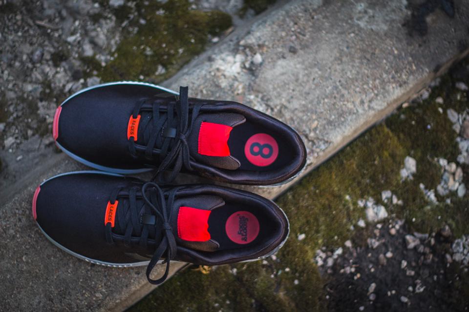"""Image of FACES&LACES x adidas Originals ZX Flux """"Teufelsberg"""""""