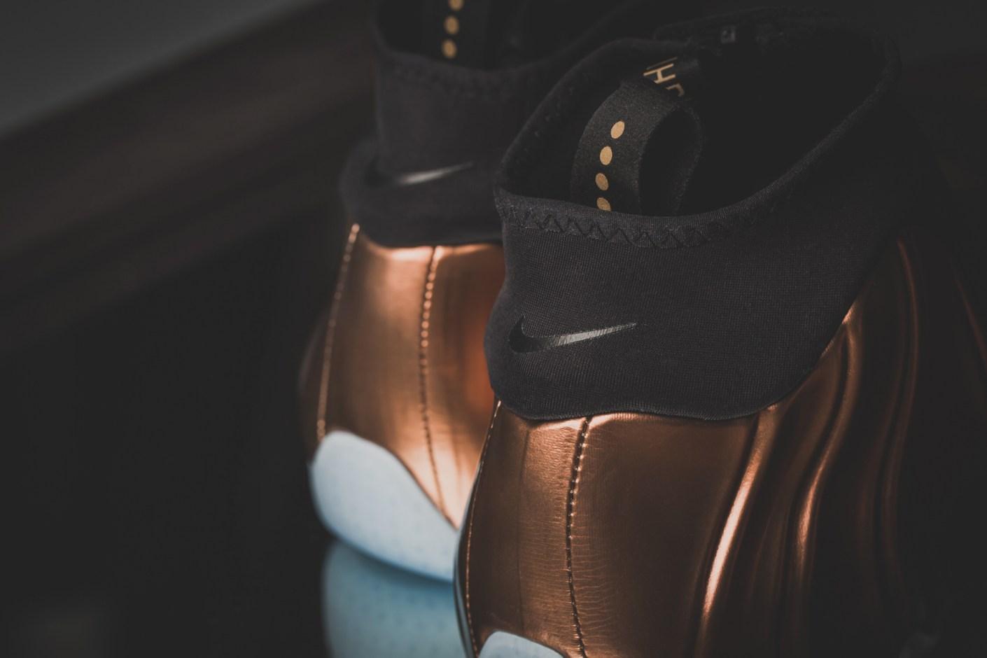 """Image of Nike Air Flightposite PRM """"Copper"""""""