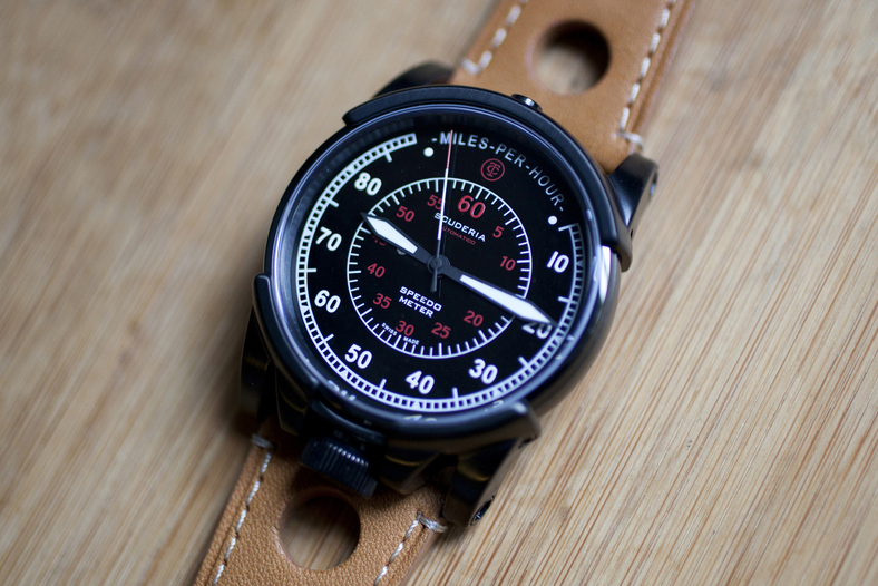 Image of HODINKEE Takes a Closer Look at the CT Scuderia Dashboard Collection